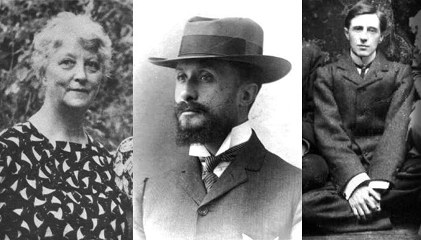 May Bolles, première bahá'íe en France. Hippolyte Dreyfus, premier bahá'í français. Thomas Breakwell, premier bahá'í anglais.