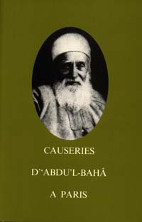 Causeries d' 'Abdu'l-Bahá à Paris